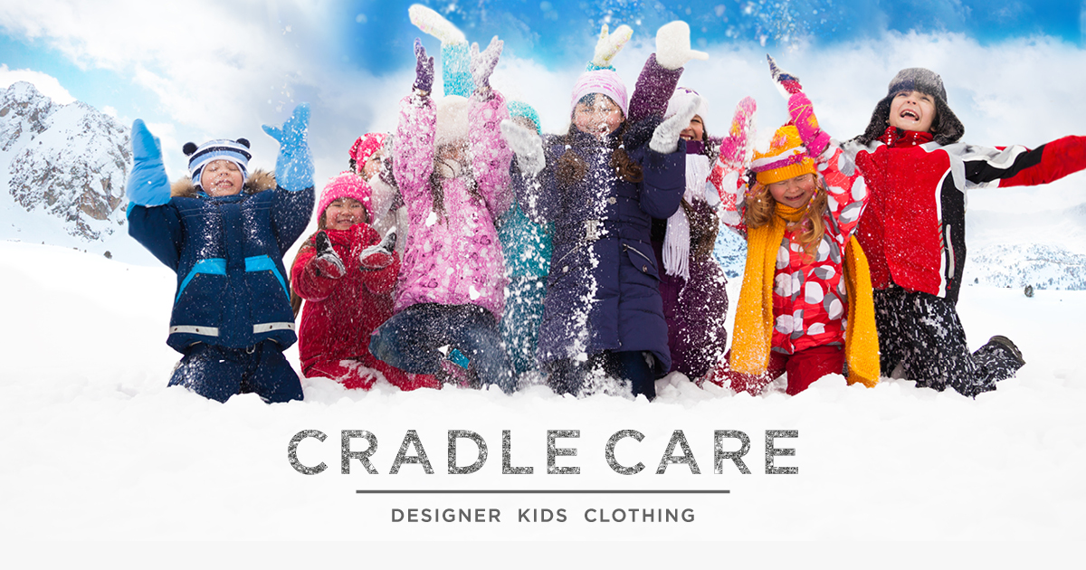 get kids outdoors wrapped warmly