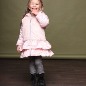Le Chic Baby Girl Pretty in Pink BELLAMY Coat