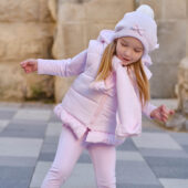 Tutto Piccolo Baby Girl Pink Waistcoat